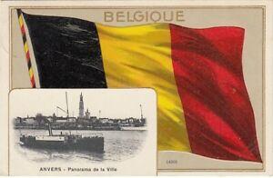 Belgique / Belgien - Anvers > Präge Litho AK 1908