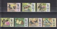 TIMBRE STAMP 7 MALAYSIE PERLIS Y&T#46-52 PAPILLON NEUF**/MNH-MINT 1971 ~B60