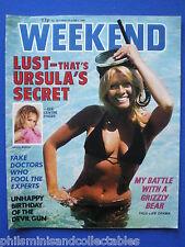 Weekend Magazine - Ursula Andress, Jim Watt, George Kennedy   27th May 1981