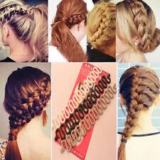 New Women Fashion  Accessories Hair Styling Clip Stick Bun Maker Braid Tool Hair