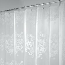 MDesign Fiore PVC Free PEVA Shower Curtain 180 X 200 Cm