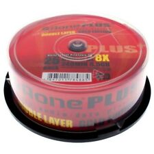 Aone Full Face Printable 8x DVD+R DL Dual Layer 8.5GB - 25 Discs