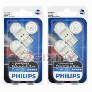 2 pc Philips Front Turn Signal Light Bulbs for Ford Escape Ranger 2018-2020 bt