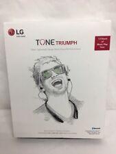 LG TONE TRIUMPH HBS-510 wireless Bluetooth headset - Black, NEW OPEN BOX