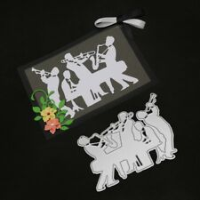 Orchestra Cutting Dies Stencil Scrapbooking Embossing Album Paper Card Craft DIY