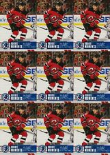 JACK HUGHES 9 CARD RC LOT 2020 UPPER DECK HOCKEY DAY ROOKIE MOMENTS SP # NHCD-16
