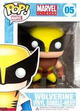 X-Men - Wolverine Brown Costume Pop! Vinyl Bobble Head Figure NEW In Box Funko