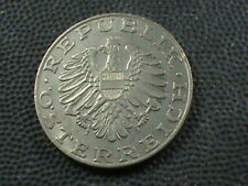 AUSTRIA    10 Schilling    1978   ,   $ 2.99  maximum  shipping  in  USA