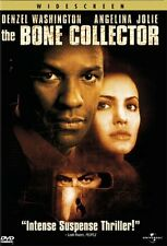 Like New DVD The Bone Collector Denzel Washington Angelina Jolie Bobby  WS