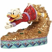 Disney Traditions 4046055 Treasure Dive Scrooge McDuck Figurine