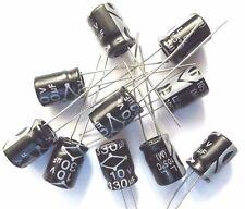 Nichicon UUR1E221MNR1GS Aluminium Electrolytic Capacitor 220uf 25V 10pcs OLA3-02