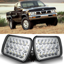 "2x 5""X7"" 7""X6"" LED Headlight Replacement White Light for  CherokeeTruck GM XJ YJ"