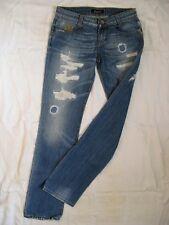 Killah by Miss Sixty Blue Jeans Denim W28/L32 slim fit x-low waist straight slim