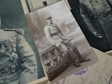 "100% ORIGINALE-CARTE POSTALE MILITAIRE ""PHOTO SOLDAT"" EN TENUE GUERRE 1914-1918"
