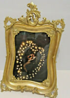 """Antique Looking Gold Victorian Style 5X7"""" Picture Frame"""
