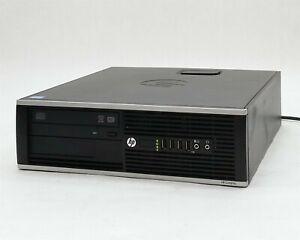 HP Compaq 8300 Elite SFF i7-3770 Quad-Core 3.40GHz 4GB 500GB Win10 Desktop PC