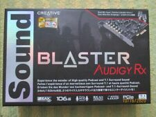 Creative Audigy Rx Sound Card Model SB 1550 Open Box With Software Disc
