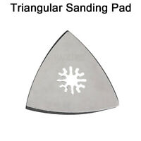 80mm Universal Triangular Flat Sanding Pad Disc Sander Head Pad Hook & Loop