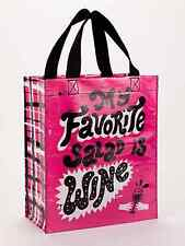 """Blue Q """"My Favorite Salad is Wine"""" lunch tote bag recycled eco by Paul Bower"""