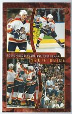 2000-01 Florida Panthers NHL Hockey Media Guide Yearbook Record Book