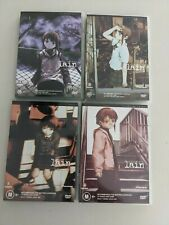 Serial Experiments Lain - Complete Series 4 DVD Set 13 Episodes Anime Madman