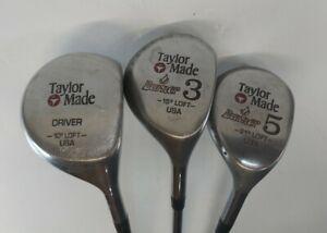 TaylorMade Burner 3 & 5 Woods, Driver