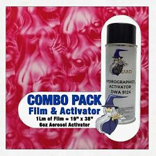 Hydrographic Film Activator Pink See No Evil Skulls Hydro Dip Dipping Wizard