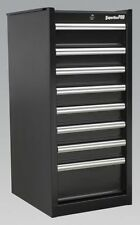 Sealey Hang-on Chest 8 Drawer With Ball Bearing Runners Black AP33589B