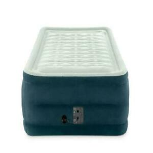 Open Box Kamp-Rite Full Self-Inflating Velour Indoor//Outdoor Foam Air Mattress