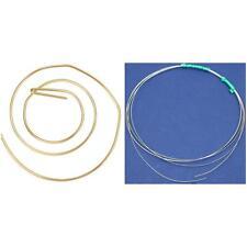 14k Gold Filled & Sterling Silver 22 Gauge Round Craft Wire Kit 2 Pcs