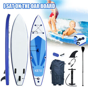 10FT Upgrade Inflatable Stand Up Paddle Board Surfboard SUP Paddelboard Adult
