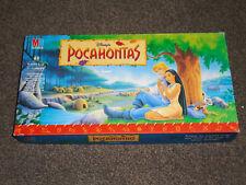 DISNEY'S POCAHONTAS - THE GAME : BY MB CIRCA 1995 - IN VGC (FREE UK P&P)