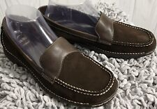 Bass-Farrah Womens Comfort Shoes/ Loafers Leather Sz.(7.5M)