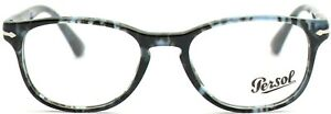 Persol Damen Herren Brillenfassung PO3085-V 1062 53mm grau blau Vollrand 340 16