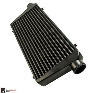 """UNIVERSAL ALLOY INTERCOOLER 3"""" INCH IN/OUT 600 x 300 x 76 TUBE & FIN CRAU"""