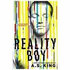 Reality Boy by A. S. King (2013, Hardcover) Free Shipping