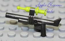 NEW Lego Minifig TRANQUILIZER GUN w/Lime Syringe Dart -Animal Dino Hunter Weapon