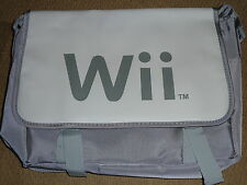 NINTENDO WII OFFICIAL MESSENGER BAG BRAND NEW! PROMOTIONAL PROMO CARRY CASE Grey