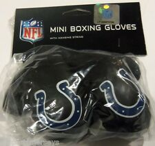 NIP NFL 4 INCH MINI BOXING GLOVES - INDIANAPOLIS COLTS