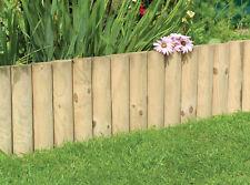 Log Roll Garden Edging (12 inches high x 30 feet long)