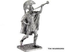 *Greek trumpeter* Tin toy soldier. 54mm miniature figurine. metal sculpture