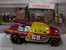 2013 TRIPLE TRACK TWISTER Exclusive JESTER∞Purple/Yellow 68☆loose☆hot wheels