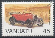 1927 FORD MODEL A CAR STAMP (Mint) (1987 Vanuatu)