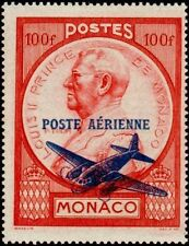 "MONACO STAMP TIMBRE POSTE AERIENNE N° 14 "" PRINCE LOUIS II 100 F "" NEUF xx LUXE"