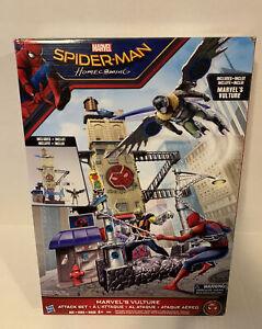 Marvel Spiderman Homecoming Marvels Vulture Attacks Set. Hasbro