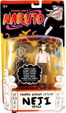 Shonen Jump's-NARUTO-Chakra Point Attack-NEJI Hyuga-2006 Mattel-Brand New