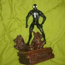 SPIDER-MAN BLACK ALIEN SUIT WEB OF #1 MARVEL SELECT action figure legends loose