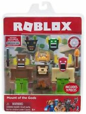 ROBLOX Mount of The Gods Figure Code 9 Piece Set H1