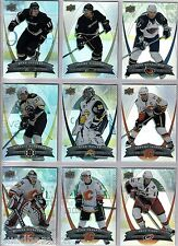 2008/09 McDONALDS COMPLETE 50 CARD BASE SET WITH 6 CARD CHECKLIST SET