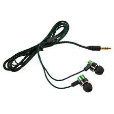 Earphone Jack Cute Noise Headphone Fiber Cloth Line 3.5mm Stereo In-ear Earbuds